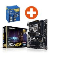 Upgrade Skylake Gigabyte GA-Z170-HD3P ATX Mainboard + Intel i5-6500 Sockel 1151