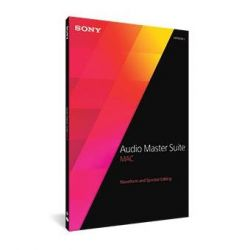 SONY Audio Master Suite Mac 2 + Sound Forge Pro Mac 2 + SpectraLayers Pro 3 Bild0