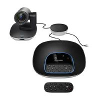 Logitech GROUP USB 2.0 ConferenceCam Kit schwarz silber 960-001057