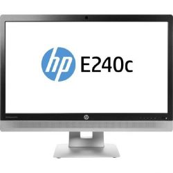 "HP EliteDisplay E240c (23,8"") 60,5cm 16:9 FHD VGA/HDMI/DP 7ms 5mio:1 WC LS LED Bild0"