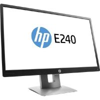 "HP EliteDisplay E240, (23.8"") 60,5cm 16:9 FHD VGA/HDMI/DP/USB 7ms 5Mio:1 LED"