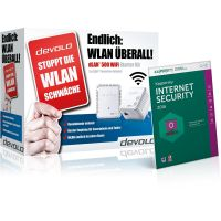 devolo dLAN 500 Wifi Starter Kit + Kaspersky Internet Security 2016 9453