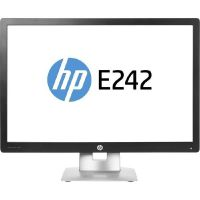 "HP EliteDisplay E242 schwarz (24"")61cm 16:10 WUXGA HDMI/DP/USB 7ms 5Mio:1 LED"