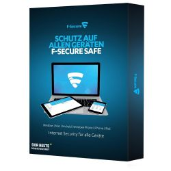 F-Secure SAFE - Internet Security - 2Jahre/5Geräte Win, MacOS, Android, iOS #ESD Bild0