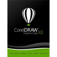 CorelDRAW Graphics Suite X8 EN - DVD