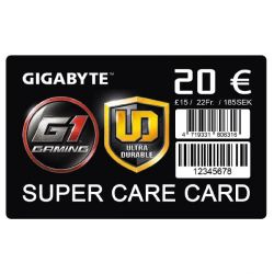 Gigabyte Super Care Card 20€ Bild0