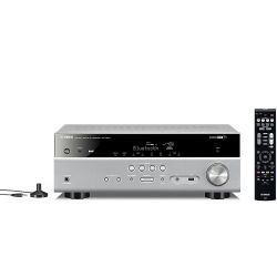 Yamaha RX-V481 DAB 5.1 AV-Receiver 4K, Bluetooth,  DLNA, AirPlay, WiFi - titan Bild0