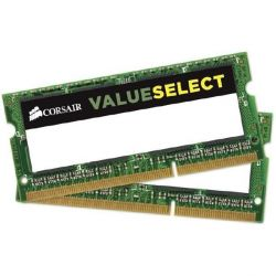 16GB (2x8GB) Corsair Value Select DDR3-1333 MHz CL 9 SODIMM Notebookspeicher Bild0