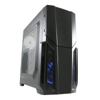 LC-Power Pro-982B Redeemer Gaming Midi Tower ATX Gehäuse USB3.0 Seitenfenster