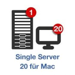 Retrospect Single Server v13 (20Clients) int. Mac ESD Bild0