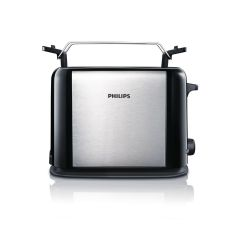 Philips HD2587/20 Daily Collection Toaster schwarz silber Bild0