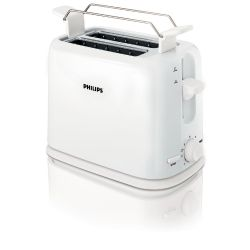 Philips HD2567/00 Daily Collection Toaster weiß Bild0