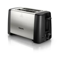 Philips Daily Collection HD4825/90 Toaster Schwarz Edelstahl