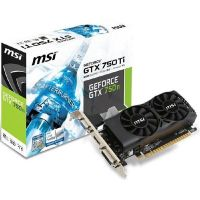 MSI GeForce GTX 750Ti 2GD5TLP 2GB GDDR5 Grafikkarte DVI/HDMI/VGA Low Profile