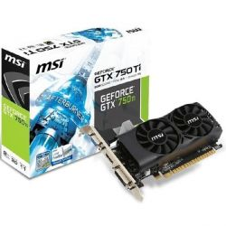 MSI GeForce GTX 750Ti 2GD5TLP 2GB GDDR5 Grafikkarte DVI/HDMI/VGA Low Profile Bild0