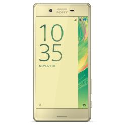 Sony Xperia X lime-gold Android Smartphone Bild0