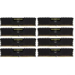128GB (8x16GB) Corsair Vengeance LPX Black DDR4-2666 RAM CL16 (16-18-18-35) Bild0