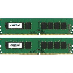 32GB (2x16GB) Crucial DDR4-2133 CL15 (15-15-15) DIMM RAM - Kit Bild0