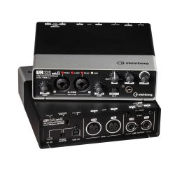 Steinberg UR22 MKII Audio Interface USB 2.0 schwarz Bild0