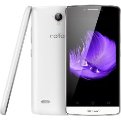 TP-LINK Neffos C5L LTE Dual-SIM pearl white Android 5.1 Smartphone Bild0