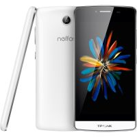 TP-LINK Neffos C5 LTE Dual-SIM pearl white Android 5.1 Smartphone