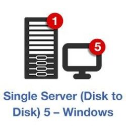 Retrospect Single Server (Disk to Disk) (5Clients) v11 int. Win + ASM ESD - EDU Bild0