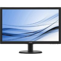 "Philips V-Line 243V5LHSB 59.9cm (24"") Full HD Monitor VGA/DVI/HMDI 4ms 10Mio:1"
