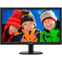 "Philips V-Line 243V5LHAB 59.9cm (24"") Full HD Monitor VGA/DVI/HDMI 5ms"