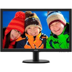 "Philips V-Line 243V5LHAB 59.9cm (24"") Full HD Monitor VGA/DVI/HDMI 5ms Bild0"