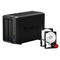 Synology Diskstation DS716+II NAS System 6TB inkl. 2x 3TB WD RED WD30EFRX