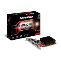 PowerColor AMD Radeon R5 230 1GB DDR3 DVI/HDMI/VGA Grafikkarte passiv LP