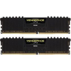 16GB (2x8GB) Corsair Vengeance LPX Black DDR4-3000 RAM CL15 (15-17-17-35) Bild0