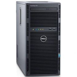 DELL PowerEdge T130 Server Xeon E3-1220 V5 4GB 1TB DVD+/-RW kein Betriebssystem Bild0