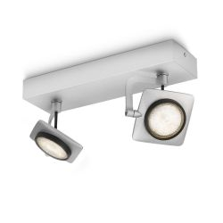 Philips myLiving Millennium LED-Wand-/Deckenspot Aluminium Bild0