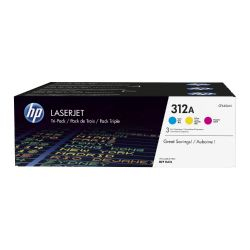 HP CF440AM Original Tonerkassette 312A Color-Kit Cyan Magenta Gelb Bild0