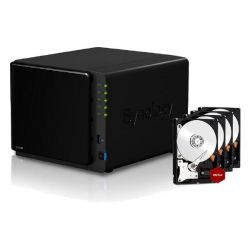 Synology Diskstation DS916+8GB NAS 4-Bay 32TB inkl. 4x 8TB WD RED WD80EFZX Bild0