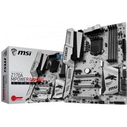 MSI Z170A MPOWER Gaming Titanium Edition ATX Mainboard Sockel 1151 Bild0