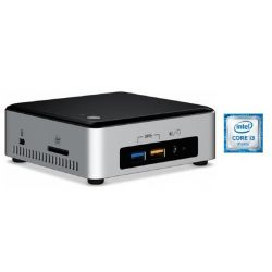 Intel Hyrican NUC 5175 -PC i3-6100U 4GB/120GB SSD Intel HD 520 WLAN ohne Windows Bild0