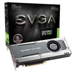 EVGA GeForce GTX 1080 Gaming Edition 8GB GDDR5 DVI/HDMI/3xDP Grafikkarte Bild0