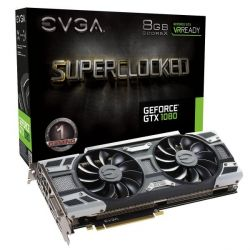 EVGA GeForce GTX 1080 SuperClocked ACX 3.0 8GB GDDR5 DVI/HDMI/3xDP Grafikkarte Bild0