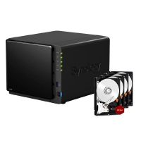Synology Diskstation DS416play NAS 4-Bay 16TB inkl. 4x 4TB WD RED WD40EFRX