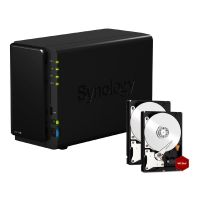 Synology Diskstation DS216+II NAS 2-Bay 4TB inkl. 2x 2TB WD RED WD20EFRX