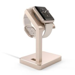 Satechi Aluminum Apple Watch Stand Gold Bild0