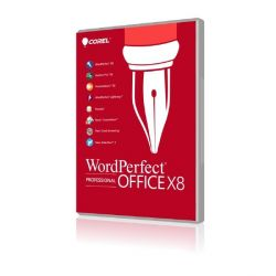 Corel WordPerfect Office X8 Professional Lizenz Level 3 (25-99) Upgrade Bild0