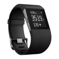 Fitbit Surge Fitness Tracker schwarz large
