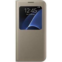 Samsung EF-CG935PF S-View Cover für Galaxy S7 edge gold Bild0