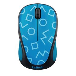Logitech Wireless Mouse M238 Party Collection GEO BLUE Bild0
