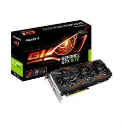 Gigabyte GeForce GTX 1070 G1 Gaming 8GB GDDR5 Grafikkarte DVI/HDMI/3xDP  Bild0