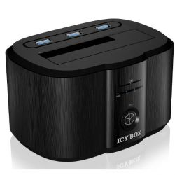 "RaidSonic Icy Box IB-125CH Docking- / Ladestation für 2,5""/3,5"" SATA HDD/SDD Bild0"