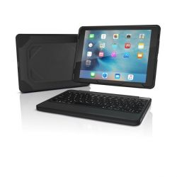 ZAGG Rugged Book Case Keyboard für iPad Pro 9.7 (Deutsch) schwarz Bild0